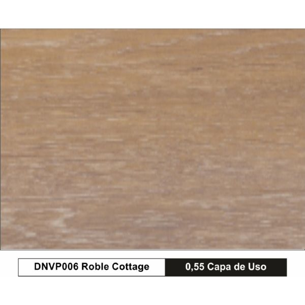 TARIMA VINILICA 5.0mm ROBLE COTTAGE AC-6 1220x180x5 1,76m2/caja